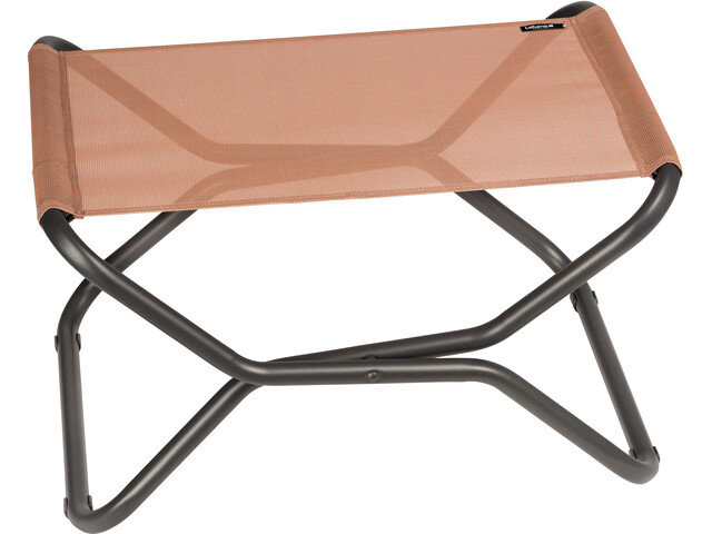 Lafuma Mobilier Next - Siège camping - Batyline gris/rouge